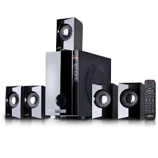 radio home theater systems befree 5 1 channel surround sound bluetooth speaker system by