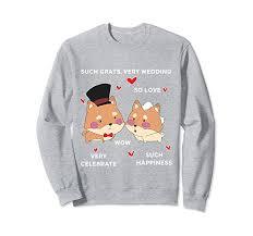 wedding gift meme shiba inu dog wedding gift meme sweatshirt clothing