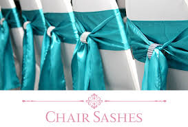 turquoise chair sashes buy wedding chair covers and sashes for weddings