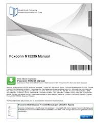 foxconn n15235 manual portable document format motor vehicle