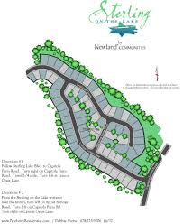 sterling on the lake new homes in flowery branch ga peachtree