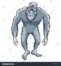 shutterstock stock bigfoot monster truck bigfoot clipart head pencil and in color bigfoot clipart head