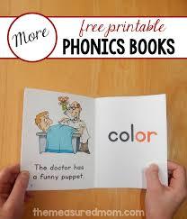 free phonics books the measured mom