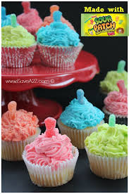 sour patch kids cupcakes recipe isavea2z com