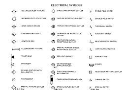 electrical floor plan symbols beautiful architecture floor plan