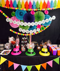 neon party ideas neon glow party party ideas neon glow neon and