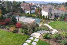 bellevue sport court and landscape u2013 seattle architects