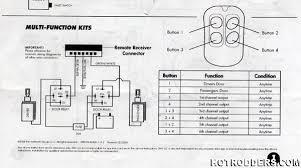 power door wiring remote system rod forum hotrodders