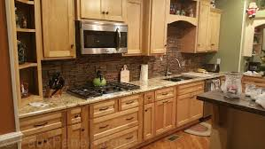kitchen backsplash classy glass and stone mosaic tile backsplash