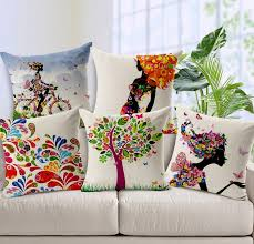 Modern Cushions For Sofas Vintage Cushion Cover Luxury Home Seat Car Sofa Hotel Square