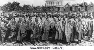 austro hungarian soldiers at the eastern front 1918 stock photo