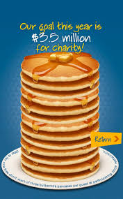 Get Free Pancakes At Participating Ihop Restaurants Celebrate A Decade Of Giving With Free Pancakes