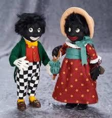 felt golliwog pattern 21 british golliwog golly doll pattern 1940s vintage picclick com