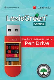 lexisnexis online bookstore lexisgreen criminal law books u0026 bare acts on a pen drive buy