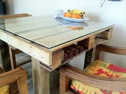 Pallet Dining Room Table Diy Tables From Euro Pallets U2013 Fresh Design Pedia