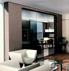 half wall ideas sliding glass door living room design commercial
