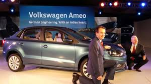 volkswagen ameo white volkswagen launched polo crest vento crest ameo crest editions