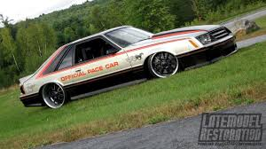 1979 ford mustang pace car sinis built mustang 1979 pace car