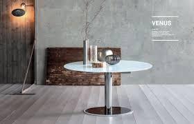 tavoli da design tavolo da pranzo mod venus di sedit allungabile piano in vetro