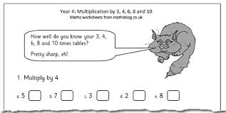 free year 4 maths worksheets maths blog part 8