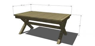 Diy Furniture Plans Free by Free Diy Furniture Plans To Build A Pb Inspired Toscana Table