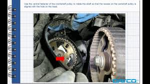 timing kit installation land rover free lander ii 2 2 td4 engine