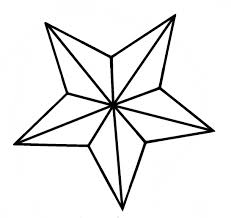 star outline images outline of a star clipart wikiclipart