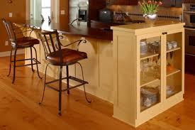 eat in kitchen island simple unfinished wood kitchen bar high