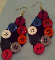 diy button earrings diy button earrings steps by n