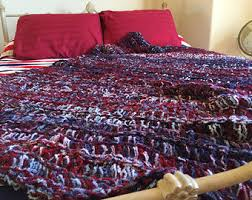 hand knit throw blanket home decor accents by cricketshome on etsy