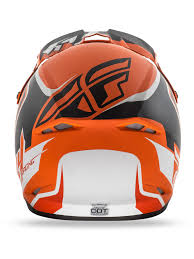 childrens motocross helmet fly racing matte orange black white 2016 kinetic fullspeed kids mx