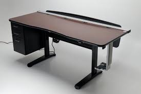 Height Of Office Desk Ergo Vanguard Office 72 Adjustable Height Desk Martin Ziegler