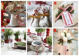idee per la tavola 12 idee per decorare la tavola di natale la vita semplice
