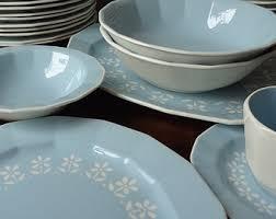 vintage dinnerware sets etsy