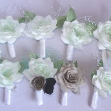 mint green corsage shop corsage and boutonniere for prom on wanelo