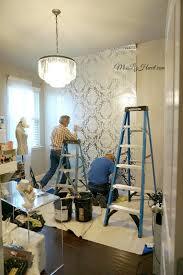 miss liz heart new wallpaper makeup room update home office