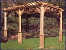 pergola design ideas cedar pergola kits 16x16 arched pergola