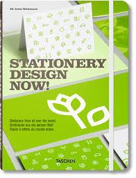 taschen design stationery design now taschen books