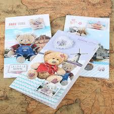 aliexpress vs wish free ship 1lot 24pc cute cartoon bear message card birthday card