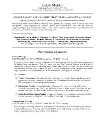 executive assistant resume example sample in 23 astonishing of