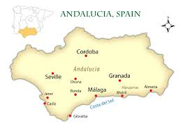 Spain Google Maps by Google Map Andalucia Spain My Blog