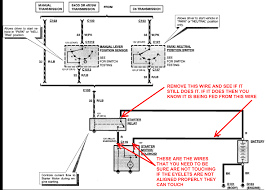 1990 ford escort the starter solenoid relay wiring diagram