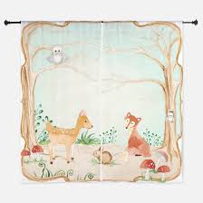 Owl Curtains For Nursery Owl Nursery Window Curtains Drapes Owl Nursery Curtains For Any