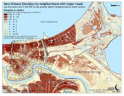 New Orleans Street Map Pdf by Physiography U0026 Topography Characterizing Hurricane Katrina And