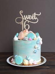 la torta de sweet 16 sweet 16 decoraciones de cumpleaños la