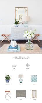Entry Table Ls Copy Cat Chic Room Redo Cheery Coastal Entry Copycatchic