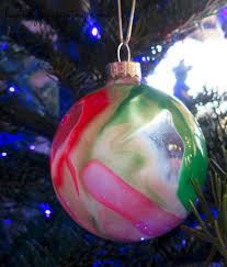 paint swirl ornaments easy craft