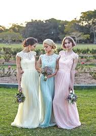 bridesmaid dresses uk a line cap sleeve bateau lace floor length combination bridesmaid