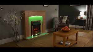 signature fireplaces traverse freestanding electric suite youtube