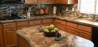 Cement Kitchen Countertops Design Ideas For Different Finishing Techniques On Concrete